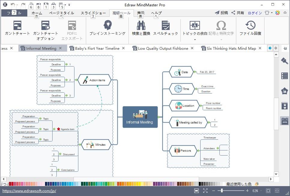 マインドマップソフトMindMasterを1年使用して分かったメリット・デメリットのメモ