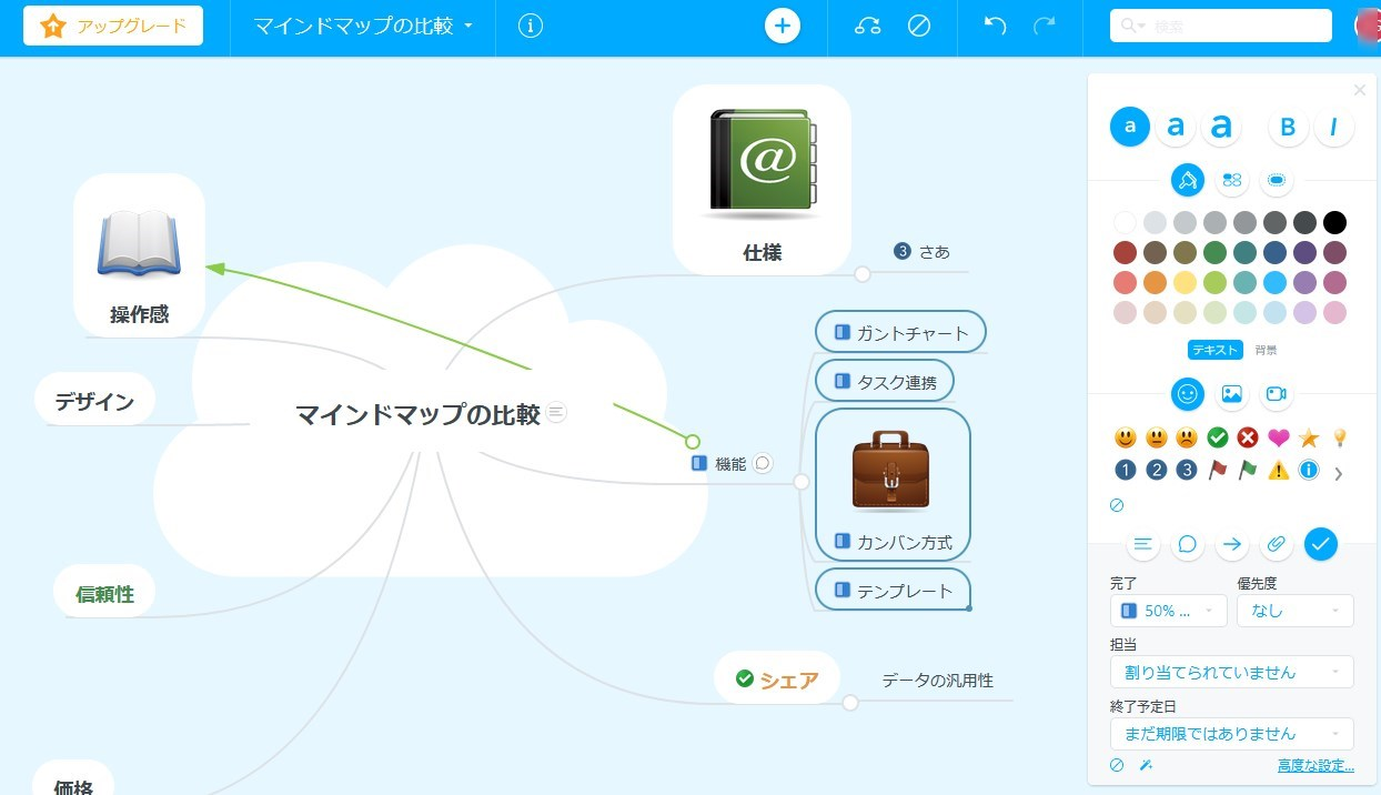 【MindMeister(マインドマイスター)】|マインドマップソフト使用レビュー